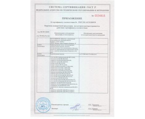 Сертификаты Металл Профиль